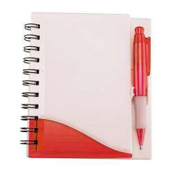 LIBRETA FRESH COLOR ROJO
