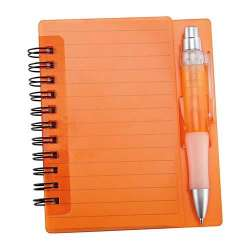 LIBRETA FUN-WORK COLOR NARANJA