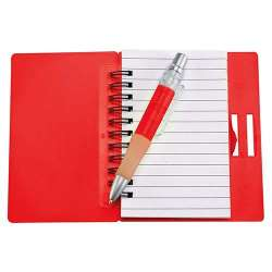 LIBRETA FUN-WORK COLOR ROJO