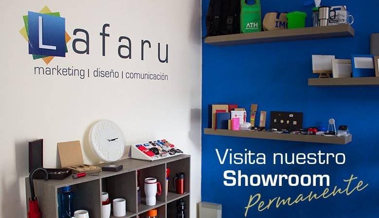 Showroom permanente articulos promocionales